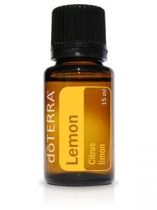 100 % reines ätherisches Zitronenöl (Citrus limon) von doTERRA