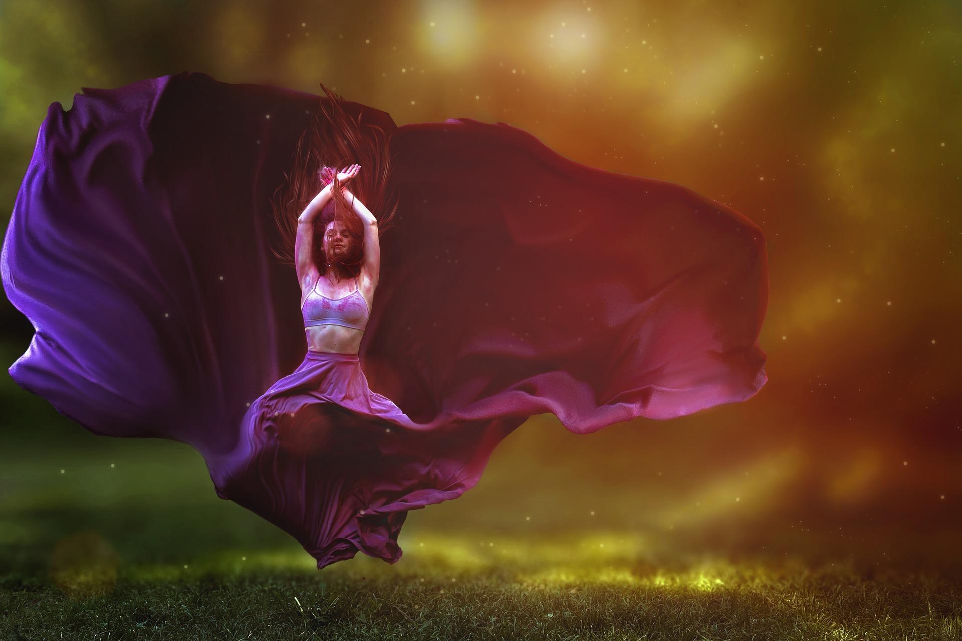 Vereint ... Tanz der Liebe der Weiblichkeit mit der männlichen Energie in ihr - SeelenEINS